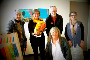 Cathy McGowan at Bainz Gallery Wangaratta