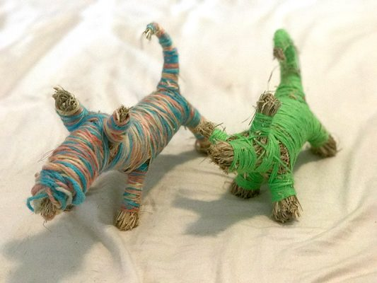 Georgia MacGuire ~ Making Bush Toys out of Grasses and Wool