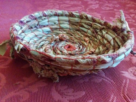 Heather Turner ~ Natures Treasures Coiled and Stitched