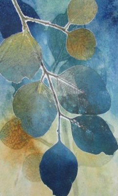 Joan Mullarvey ~ Monoprinting With & Without a Press