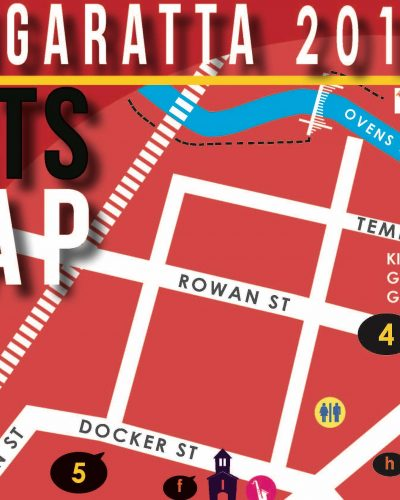 Art Map Now Available For Wangaratta Festival of Jazz and Blues Nov 3-5 2017