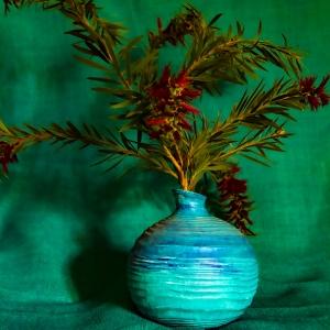Paddy-Milne-Blue-Vase-and-Bottlebrush-2020