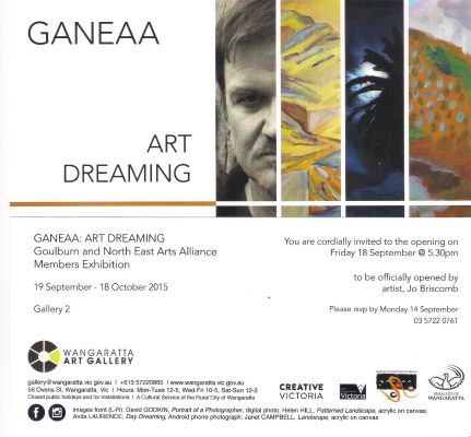 Your Invite to the Opening of the Ganeaa Exhibition –  Art Dreaming