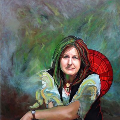 Janet Leith Portrait Painting