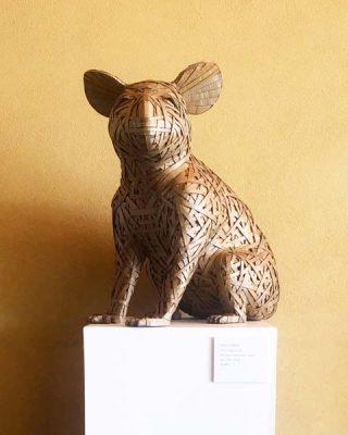 Taro Iiyama Cardboard and Paper Sculpture