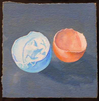 Leonie Partridge Egg Tempera Into Painting Workshop